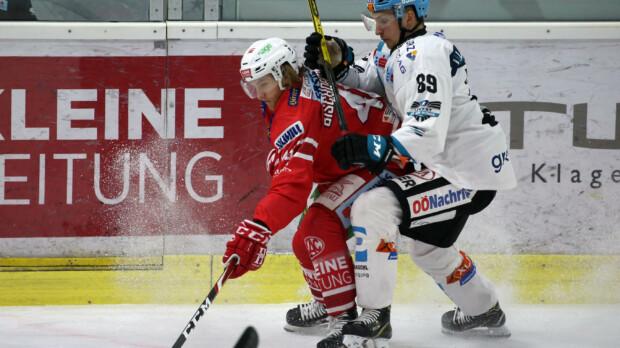 Eishockey KAC vs EHC Linz