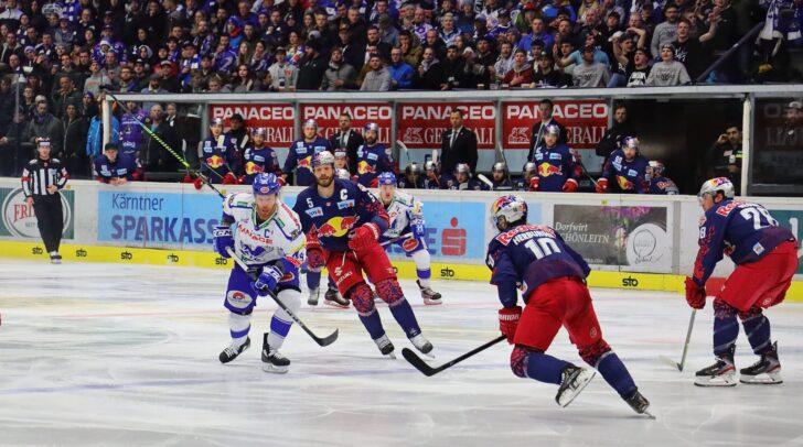 Die Adler des EC Panaceo VSV mussten am heutigen Freitag gegen den EC Red Bull Salzburg eine 7:2 Niederlage einstecken.