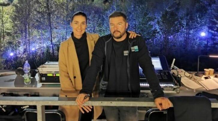 Marina und Markus Virgolini von Stereo Media stellen dem Krisenstab Klagenfurt ihr Equipment zur Verfügung.