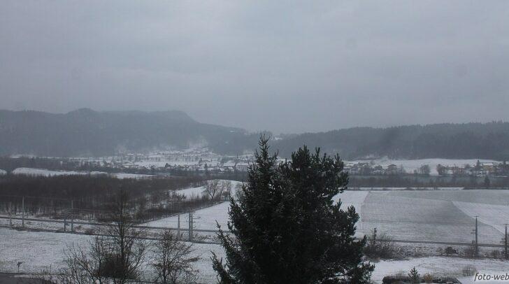 Auch Wernberg hat sich in ein weißes Winterkleid gehüllt.