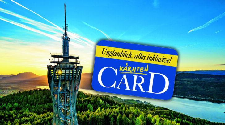 Bei Besitz einer Kärntner Familien- oder Jugendkarte gab es die Kärnten Card um die Hälfte reduziert.