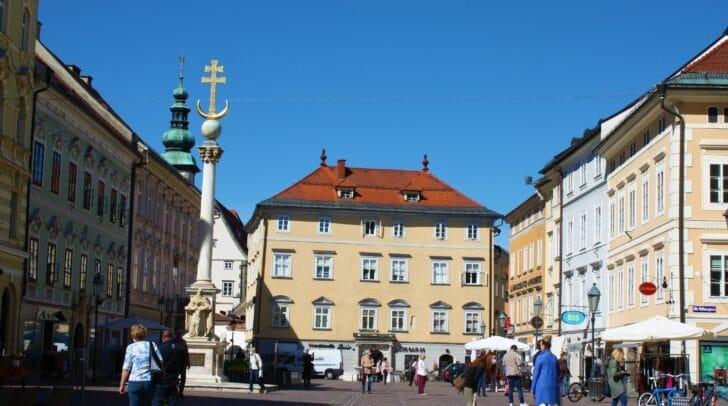 In der Stadt Klagenfurt gibt es aktuell eine offiziell bestätigte Person, die mit dem Coronavirus infiziert ist.