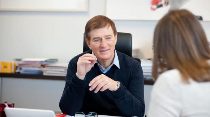 AK-Präsident Günther Goach will mit dem AK-Lerncoaching benachteiligte Schülerinnen und Schüler unterstützen.