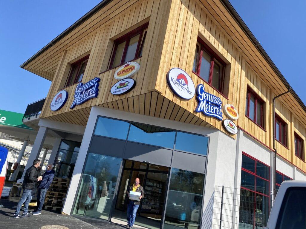 St Magdalen Genuss Meierei 24h Automat Und Imbiss Eroffnen Neu In Villach 5 Minuten Nachrichten Aktuelles