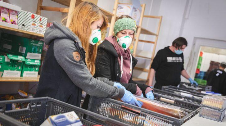 In der LEA in Klagenfurt finden jetzt Lebensmittel-Not-Ausgaben fünfmal in der Woche jeweils am Vormittag statt.