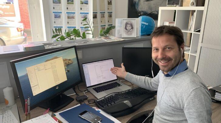 NEOS-Kärnten-Landessprecher Markus Unterdorfer-Morgenstern