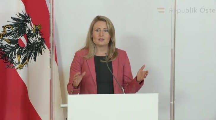 Kultusministerin Susanne Raab