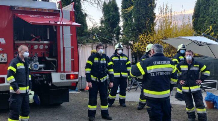 Vor Ort konnte kein Brand festgestellt werden.