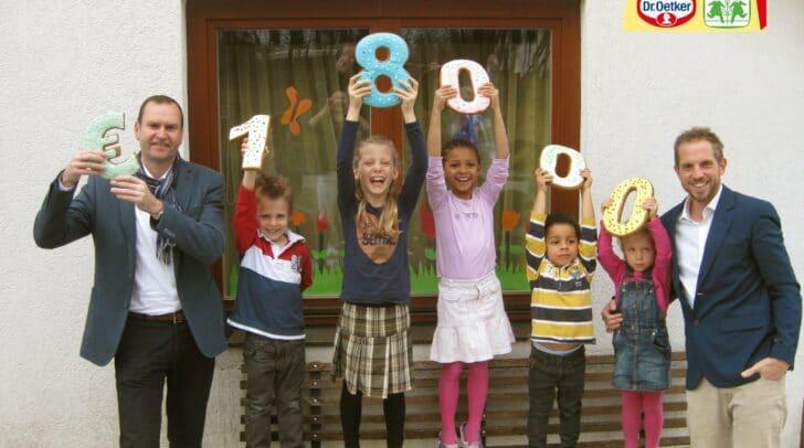 2010 übernahm Dr. Oetker die Patenschaft für ein Haus im SOS-<br /></noscript>Kinderdorf in Moosburg.