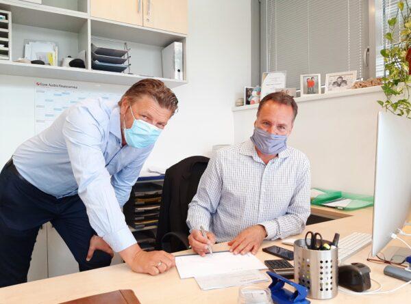 Roland Potocnik und Dieter Wallner