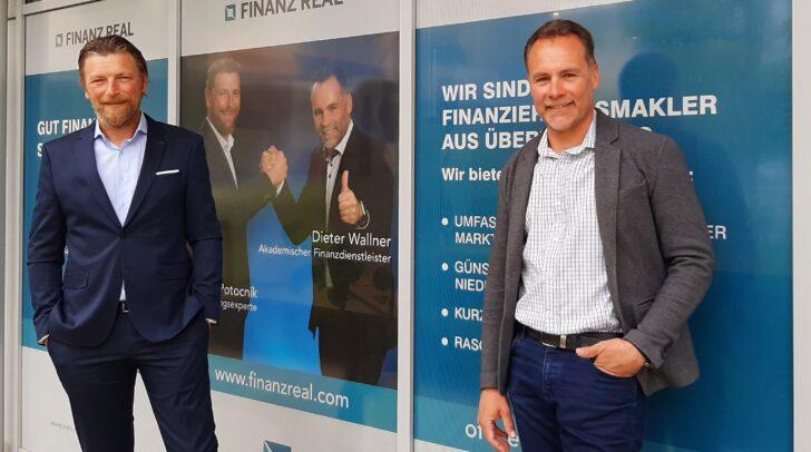 Die Finanzreal-Experten Roland Potocnik und Dieter Wallner (v.l.) wissen wo dein Geld gut angelegt ist.