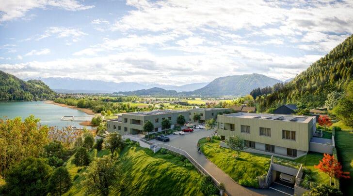 Bella Vista Residenzen - den Ossiacher See immer im Blick.