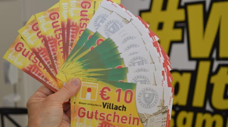 """Die """"Villach Gutscheine"""" sind bei der Aktion zum Angebotspreis von -25 Prozent erhältlich."""