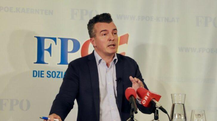 FPÖ-Landesparteichef Klubobmann Gernot Darmann