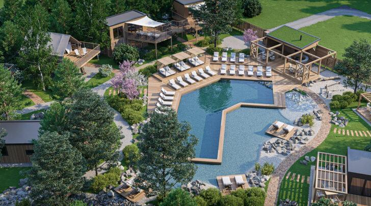 Anfang August soll das österreichweit führende Projekt für luxuriösen Campingurlaub die ersten Gäste in die Region locken.