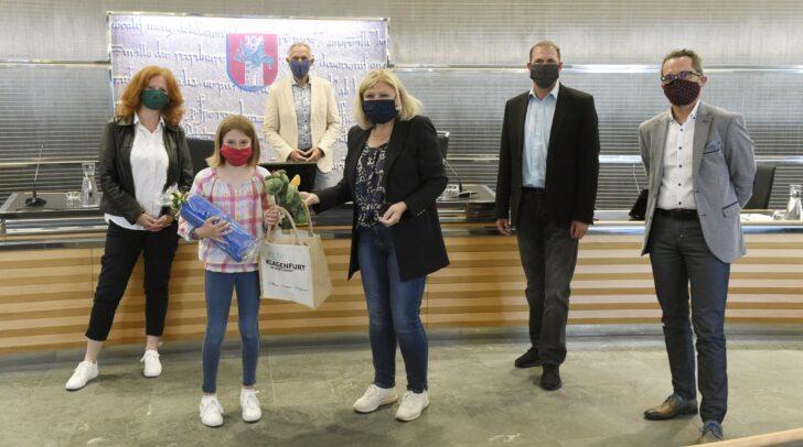 Bei der virtuellen Live‐Fragestunde konnten die Kinder ihre Fragen rund um die Coronakrise stellen.