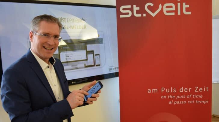 Bgm. Martin Kulmer will durch die neue Bürger-App einen noch direkteren Draht zur Bevölkerung erreichen.