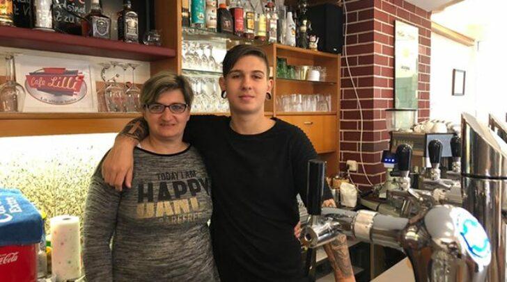 Das Mutter-Sohn-Gespann Liane Raunegger und Sandro Raunegger freuen sich schon auf die Eröffnung ihres neuen Cafes.