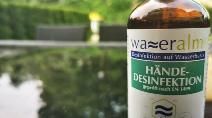 Für Addendum wirft die Wirksamkeit des Kärntner Desinfektionsmittels