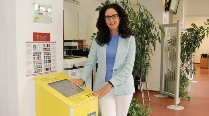 Angelika Gruber, Leiterin der Abteilung