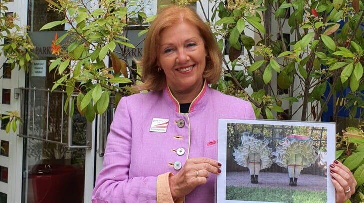 Gewährt spannende historische Einblicke in Villachs Schlafzimmer: Stadtführerin Gerlinde Klammer-Minichberger.