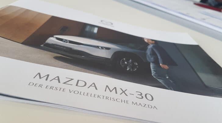 Der vollelektrische Mazda MX-30 ist ab September erhältlich.