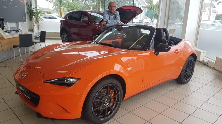 Der Comeback-Bonus gilt für alle Mazda-Modelle.