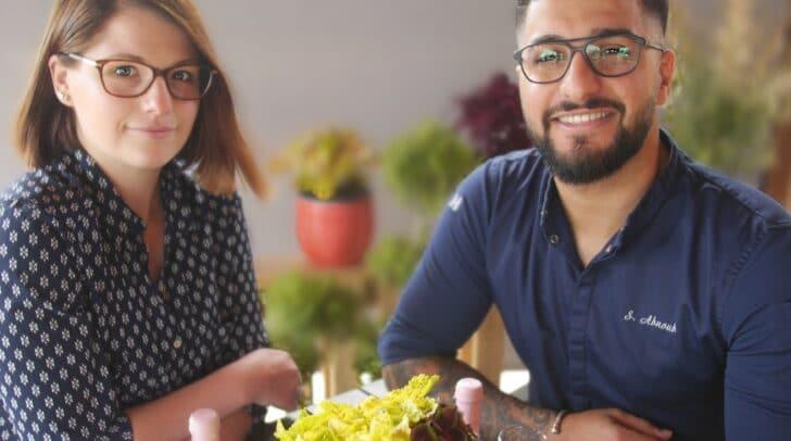 Nicole Decleva und ihr Partner Abnoub Shenouda eröffnen in Klagenfurt: Exquisit, außergewöhnlich und mit Liefer-Konzept.