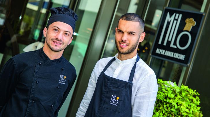 Küchenchef Daniel Benic mit Junior-Chef Dean Aleksic verwöhnen euch mit...  (c) Magneto CPA/Krammer