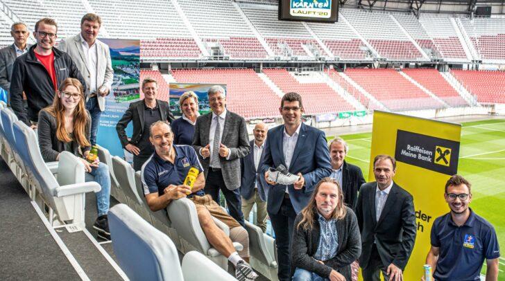Partner und Sponsoren von KÄRNTEN LÄUFT im Wörthersee Stadion.