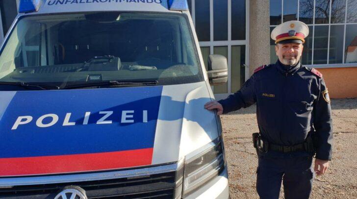 Der Klagenfurter Polizist Christian Eder ist seit dem Jahr 1992 im Polizeidienst und arbeitet seitdem, laut eigenen Angaben, in seinem