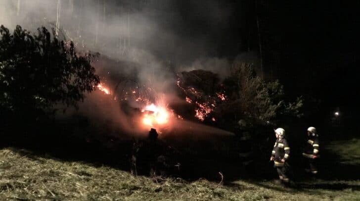 Am Sonntag wurde die Freiwillige Feuerwehr Radenthein zu einem Brandeinsatz alarmiert.