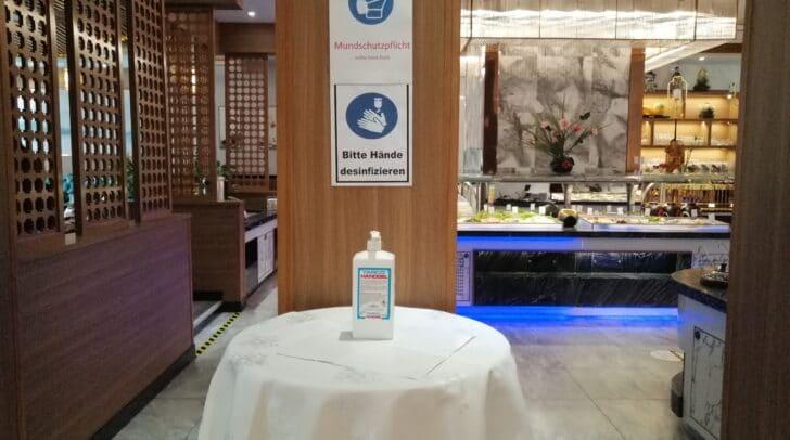 Hygienestandards auf höchstem Niveau!