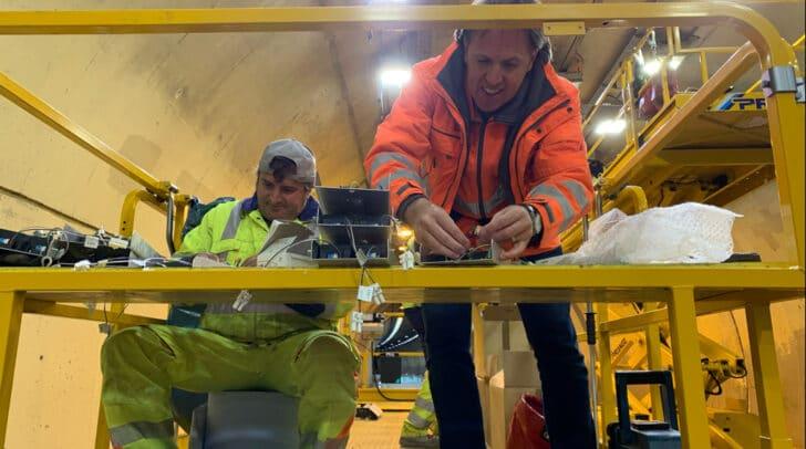 Thomas Nessel, Betriebstechnik-Regionalleiter der ASFGINAG legte beim Umbau auch selbst Hand an.