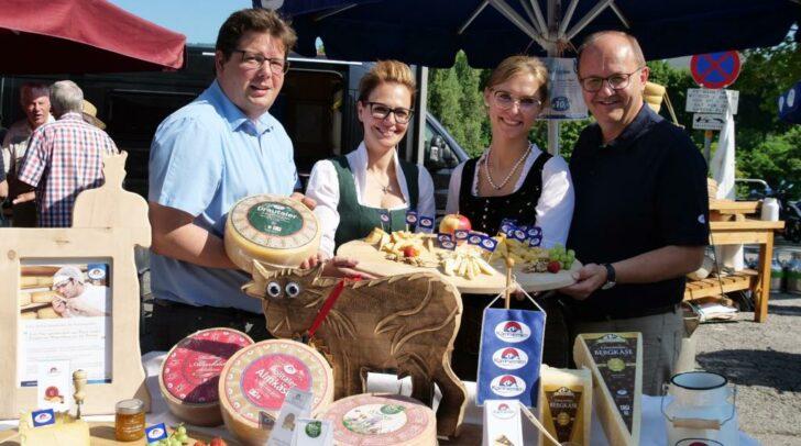 Am 18. Juli möchte man gern Mäuschen am Villacher Wochenmarkt sein.