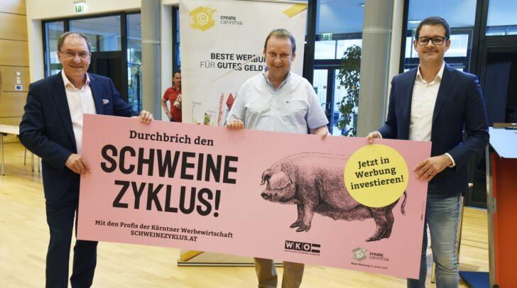 Fachgruppenobmann Volkmar Fussi und WK-Vizepräsidentin Carmen Goby stellten heute die neue Kampagne