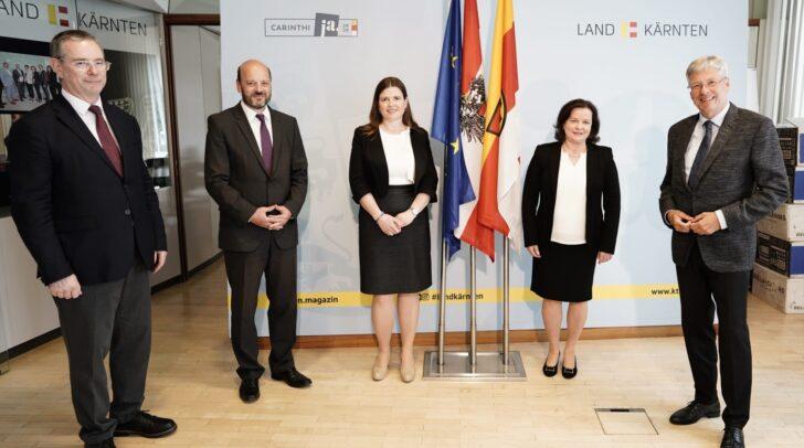 Die neue Vizepräsidentin des Landesverwaltungsgerichtes Tanja Koenig-Lackner wurde am Dienstag angelobt.