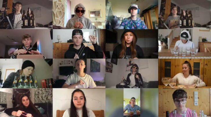 Die Medientechnik Schülerinnen und Schüler der HTL Villach schlossen sich zusammen und produzierten gemeinsam das Musikvideo