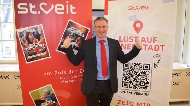 Mit den geplanten Events soll die Stimmung in der Stadt angehoben und so die Handelsbetriebe und die Gastronomie unterstützt werden, so Bgm. Martin Kulmer.