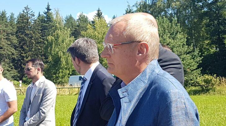 """Ein freudiger und ergreifender Moment für Baumeister Klaus Napokoj – der Spatenstich für das Wohnprojekt """"Cardea"""""""
