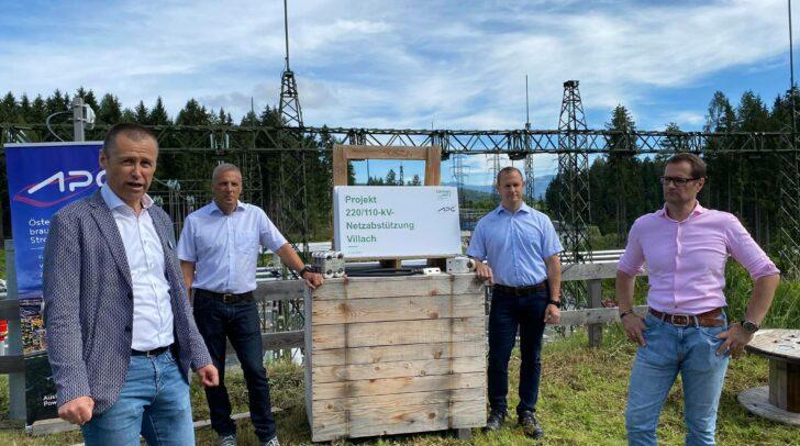 Heute wurden die Fortschritte des gemeinsamen Großvorhabens von der Austrian Power Grid (APG) und der Kärnten Netz GmbH (KNG) vorgestellt.