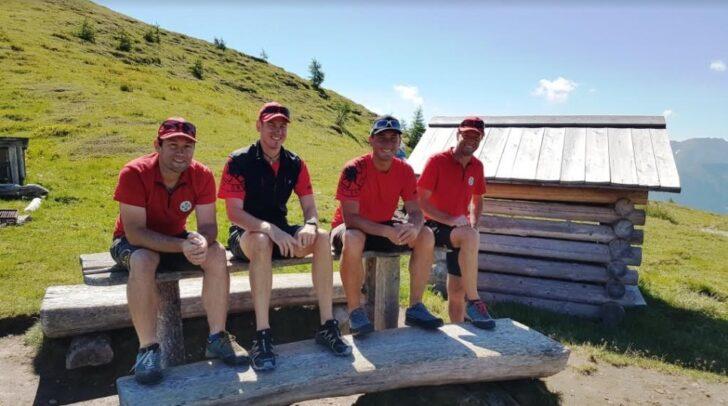 Danke an die Kameraden der Bergrettung Lesachtal.