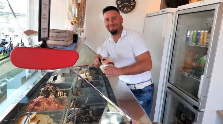 Bojan Zavratnik hat die Idee der exquisiten Eissorten mit dem Eis Paradies nach Kärnten gebracht.