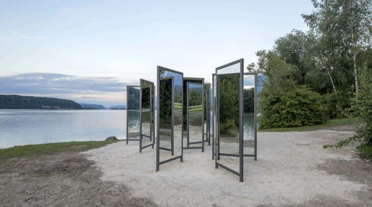"""Installationen wie die """"20 Spiegel"""" von Armin Guerino werden bei """"horizontal20"""" zu sehen sein."""
