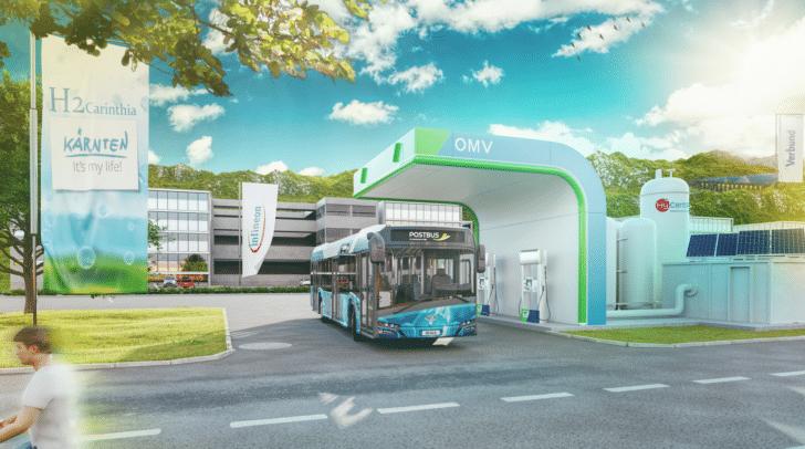 Visualisierung: So ist die neue Tankstelle geplant.