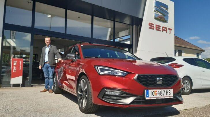 Jetzt bei Eisner Auto in der Pischeldorfer Straße den neuen SEAT Leon Probefahren!