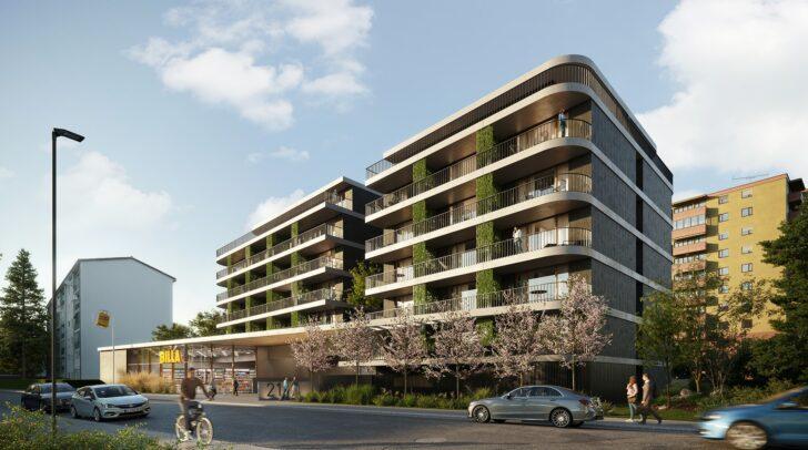 70 neue Wohnungen entstehen in der Hans-Sachs-Straße