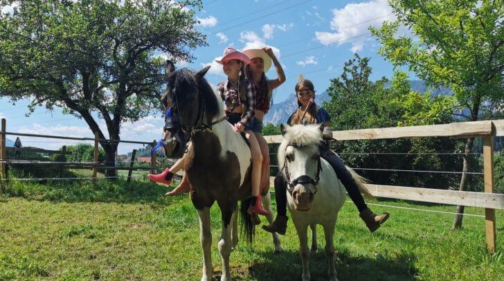 Der Pferdehof Lind und der Begegnungshof Moser verlosten eine Woche Feriencamp und eine Geburtstagsparty an zwei glückliche junge Gewinner.