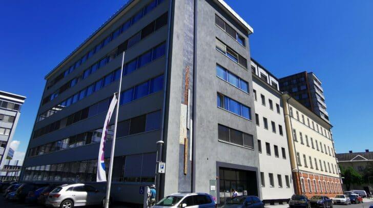 Die Expositur im ehemaligen Finanzamtsgebäude hat eine Fläche von 287 Quadratmeter.