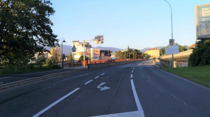 Ab der kommenden Woche wird die Alpen-Adria-Brücke in Villach saniert.